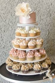 8 Wedding Cake And Cupcakes Photo 2 Tier Wedding Cakes With