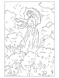 painting coloring pages. Exellent Pages Coloring Pages Painting Famous Paintings 999 For You Ma With