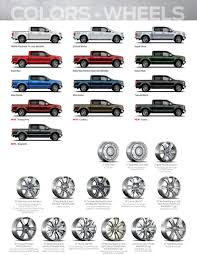 2014 Ford F 150 Color Chart 2015 F150 Colors