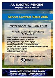 A.l Electric Fencing - Service Contract Deals
