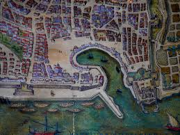 Map Of Palermo 16th Century At Palazzo Lanza Tomasi At P Flickr
