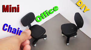how to build miniature furniture. DIY Miniature Realistic Office Chairs Dollhouse # 1 How To Build Furniture