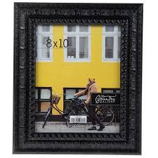 black ornate scroll wood wall frame 8