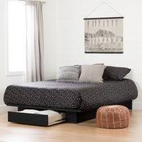 Product Image South Shore Full/Queen Holland Platform Bed with Drawer, Multiple Finishes Storage Beds