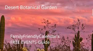 free admission desert botanical garden