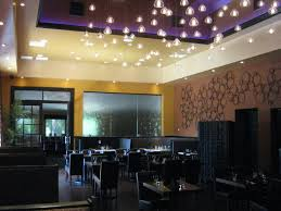 unique restaurant lighting ideas leds. Luchento\u0027s Ristrante With RGB LED Lights Used In The Seating Area. Unique Restaurant Lighting Ideas Leds