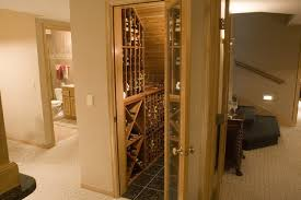 great wine closet using under staircase space traditional wine cellar mahogany wine cellars traditional wine cellar