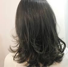 ミディアムヘアはレイヤーカットは髪の動きで差をつけるhair