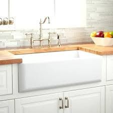 36 inch white farmhouse sink. 36 Apron Sink White Inch Farmhouse Expert Reversible Curved Front For