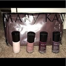 mary kay 2017 fall nail colors cosmetic bag set