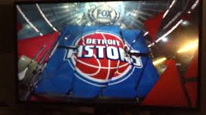 2015-16 Detroit Pistons Intro on Fox ...