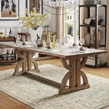 paloma salvaged reclaimed pine wood rectangular trestle table by inspire q artisan on today overstock 11950195