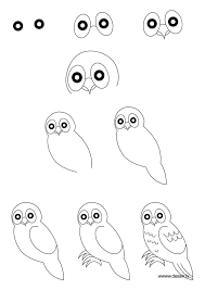 easy animals to draw step by step.  Step How To Draw An Owl Pinned By Wwwmyowlbarncom  I Heart Art  Pinterest Drawings Animal Drawings And Art Throughout Easy Animals To Draw Step By T