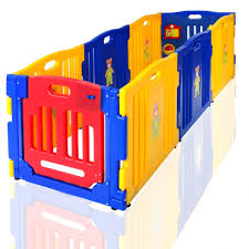 amazoncom  new clevr baby kids safety playpen  panel play