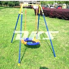 swing set for babies g baby seat doll luxury metal sets suppliers outdoor with screen plum