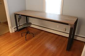 home office work table. Custom Made Modern Industrial Desk / Work Bench Home Office Table C