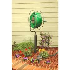 home depot garden hose holder tools free standing swivel hose reel gardenia plant home depot