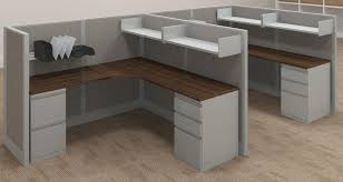 l shaped cubicle desk with curved corner desktop