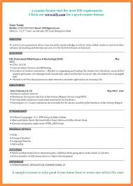 Sample Resume For Freshers Mba Finance And Marketing Example