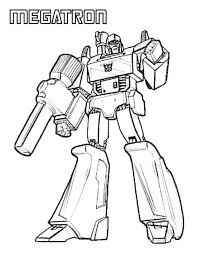 Transformers Coloring Pages To Print At Getdrawingscom Free For