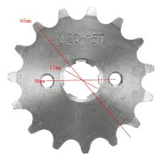 420 10 11 12 13 14 15 16 17 18 19 Teeth Counter Sprocket For 70cc 110cc 125cc Motorcycle