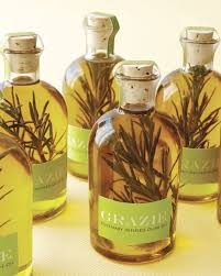 Olive Oil Decorative Bottles Rosemary Olive Oil HowTo Martha Stewart Weddings 62