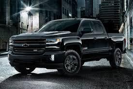 chevrolet trucks 2017. Interesting 2017 Black 2017 Chevrolet Silverado 1500 On Trucks