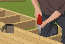 Image result for steps involved in building a deck