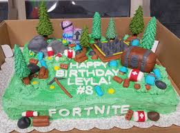 Fortnite Birthday Cake Cakecentralcom