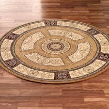 medallion area rug regency rugs round sizes geometric purple x shaw living orange soft modern