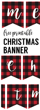 Merry Christmas Printable Banner Magdalene Project Org