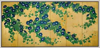 morning glories suzuki kiitsu work of art artist maker