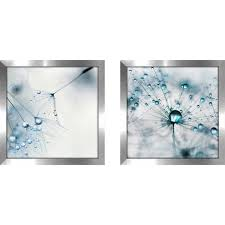 art sets of 2 twin set matching baby blue framed acrylic  on matching wall art pictures with shop art sets of 2 twin set matching baby blue framed acrylic wall