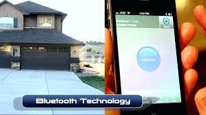 cell phone garage door opener universal garage door opener app craftsman garage door opener with cell