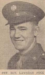 Lavern A Fink : Staff Sergeant from Iowa, World War II Casualty