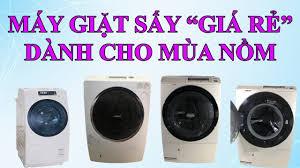 Máy Giặt Sấy Giá Rẻ Dành Cho Mùa Nồm!!!