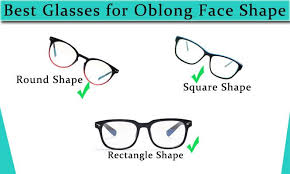 choose best gles for oblong