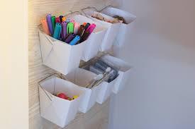 how to organize a small craft closet