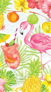 pineapple and flamingo background. carry the beautiful flamingo party sachet artwork with you for a little taste of summer on pineapple and background