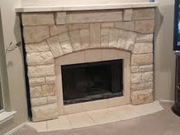 Chopped Cream Limestone Fireplace Mantel  Traditional  Dallas Limestone Fireplace Mantels