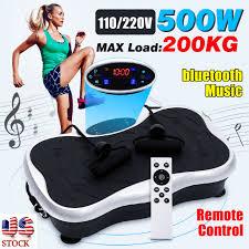 <b>200KG</b>/<b>441LBS Exercise Fitness</b> Slim Vibration Machine Trainer ...
