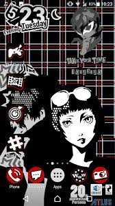 Content from other persona games is allowed if it relates to persona 5 in some way. Persona 5 Live Wallpaper Phone