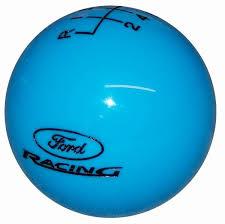 black ford racing logo. grabber blue w black ford racing logo new 6 speed shift knob