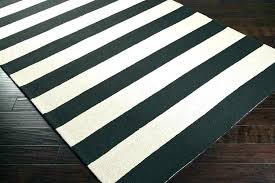 striped outdoor rugs new black white rug interesting and canada