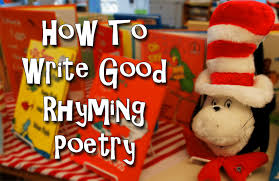 How To Write Good Rhyming Poetry Writers Relief Inc