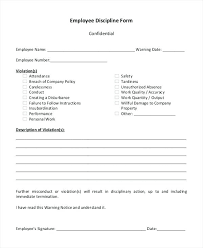 Employee Disciplinary Action Checklist Notice Of Sample Philippines ...