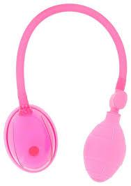 Розовая <b>вакуумная помпа для</b> клитора