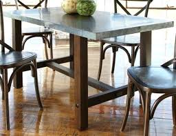 zinc kitchen table black dining room tips with additional zinc table top full size of wood table with zinc top enrapture zinc top round kitchen table