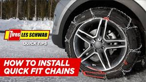 How To Install Quick Fit Tire Chains