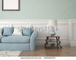 stylish living room comfortable. Wonderful Stylish Mock Up A Stylish Living Room With Comfortable Sofa And Classic  Wallpaper 3d Rendering On Stylish Living Room Comfortable D